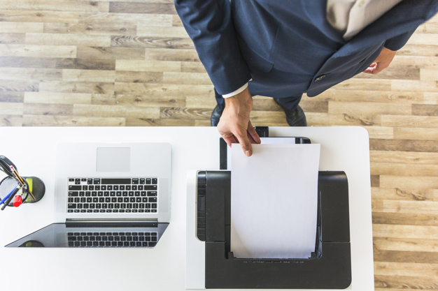 Adicionando a impressora em computador Mac