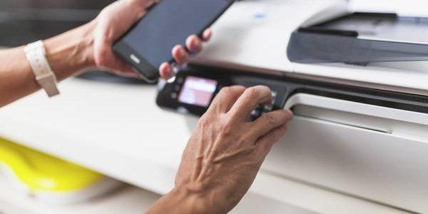 Como imprimir com o celular